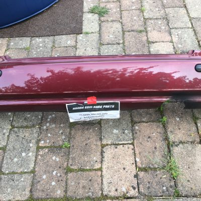 Edm Rear Bumper Civic Ek