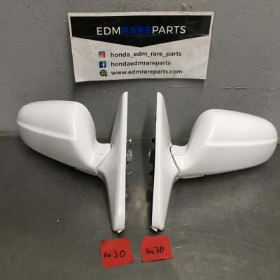 White Edm Mirrors Power