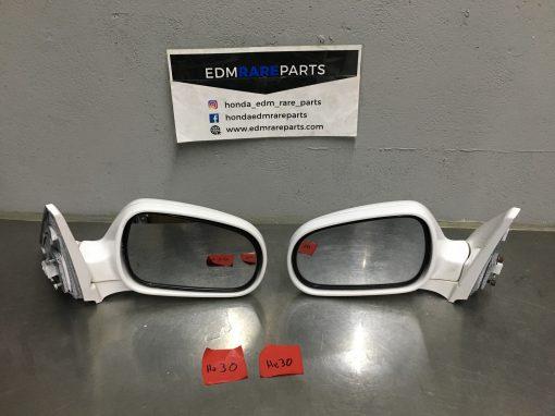 White Edm Mirrors Power